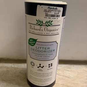 Richards organic cat supply-new! NWT!